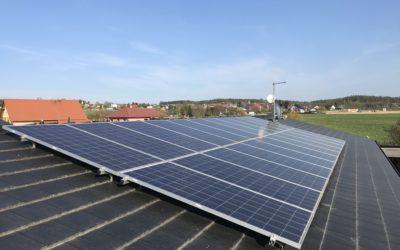Servis a údržba fotovoltaické elektrárny